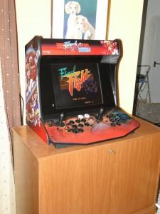 Bartop para panel de control x-arcade