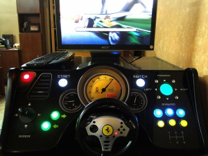 cockpit – arcade drive